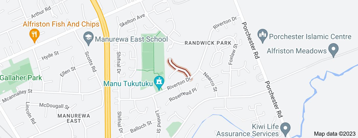 Location of Randwick Place