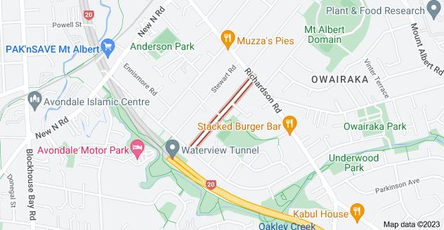 Location of Range View Road