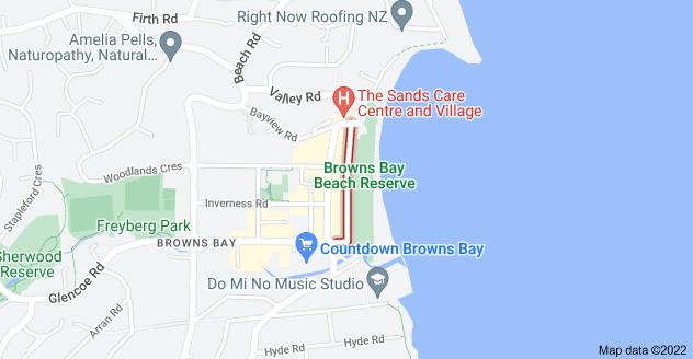 Location of Beachfront Lane