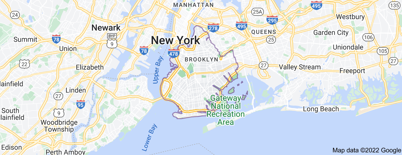 Location of Brooklyn