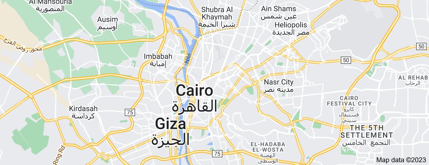 Location of Cairo