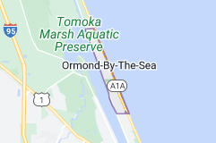 Map of Ormond-by-the-Sea