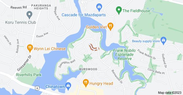 Location of Sheldon Place
