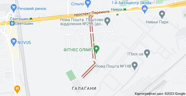 На изображении Аренда квартиры Киев ул. Кулибина, 5 мин. до метро Нивки, Галаганы