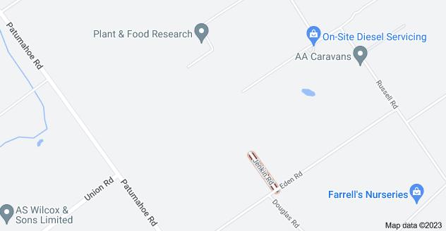 Location of Jenkin Road