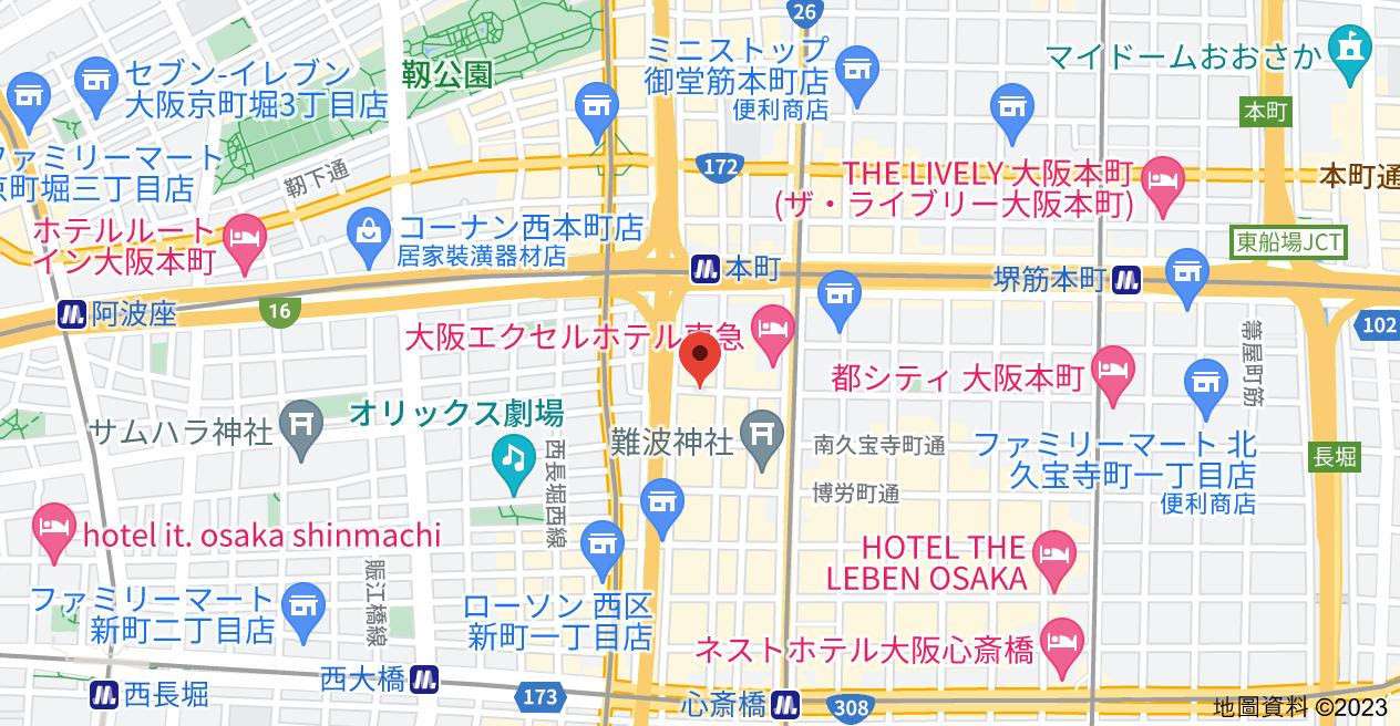 日本〒541-0057 Ōsaka-fu, Ōsaka-shi, Chūō-ku, Kitakyūhōjimachi, 4 Chome−3−8 本町アーバンライフ地圖