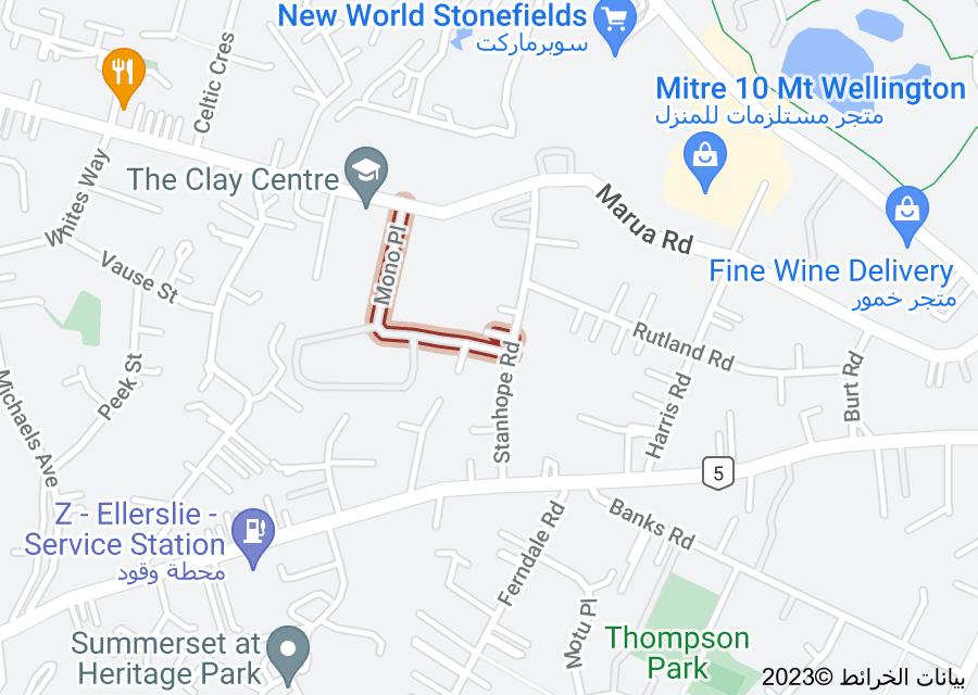 Location of Mono Place