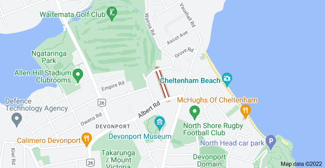 Location of Cambria Road