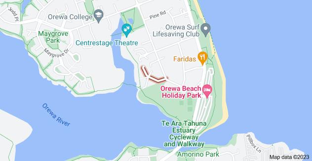 Location of Edgewater Grove