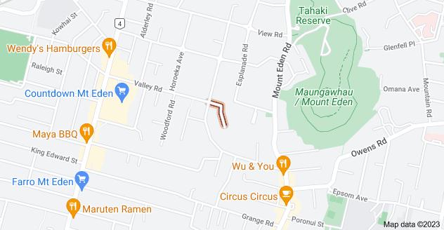 Location of Charlton Avenue