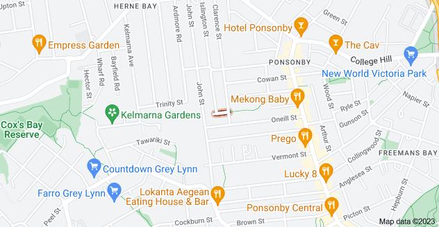 Location of Scott Street