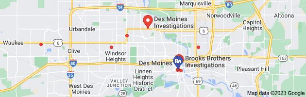 Des Moines, IA private investigators