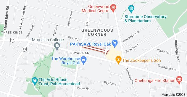 Location of Acorn Street