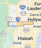 Map of Miramar, Florida