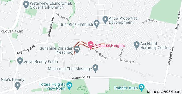 Location of Arrowsmith Drive