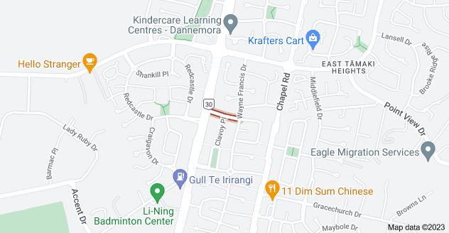 Location of Balrath Road