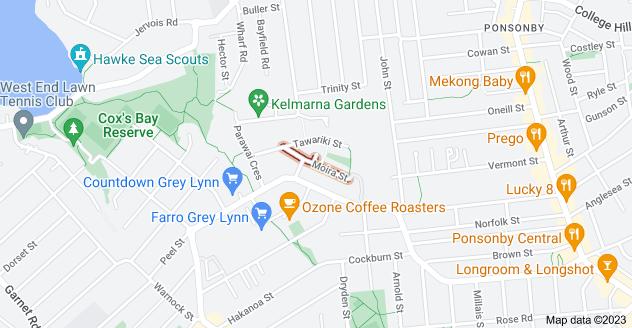 Location of Moira Street