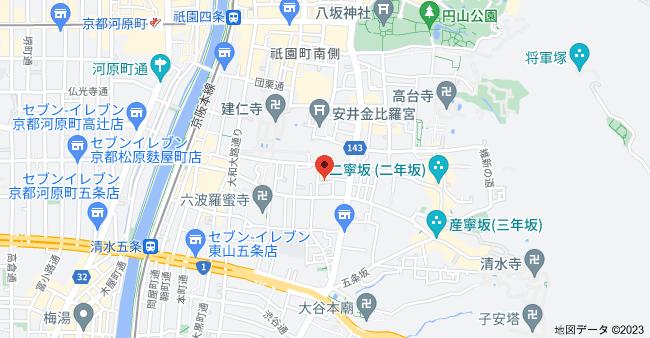 〒605-0811 京都府京都市東山区小松町11−29の地図
