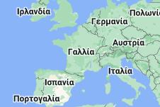 Location of Γαλλία