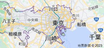 Location of 东京都