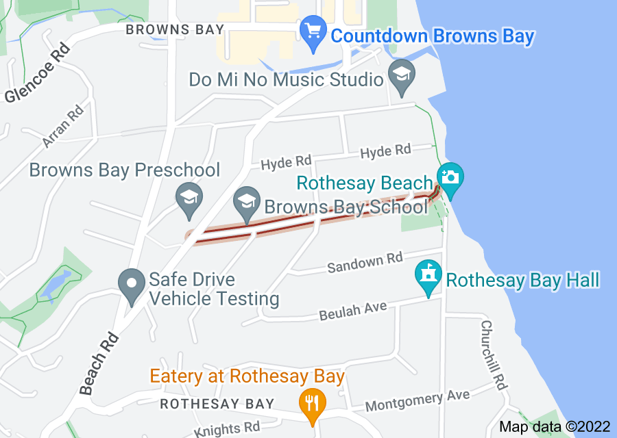 Location of Masterton Road