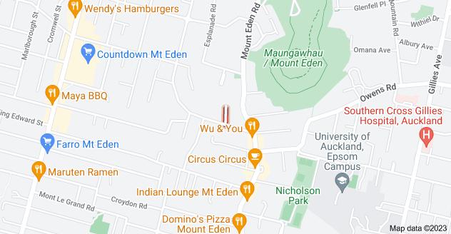 Location of Coles Avenue