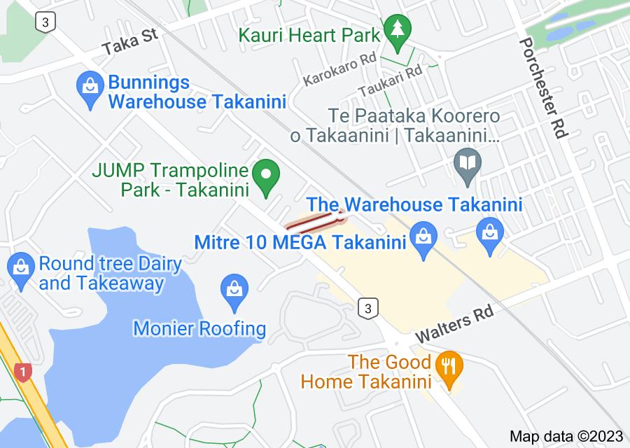 Location of Glenora Road