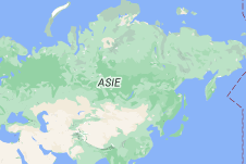 Location of Russie
