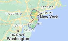 Location of ניו ג'רזי