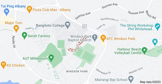 Location of Zara Court
