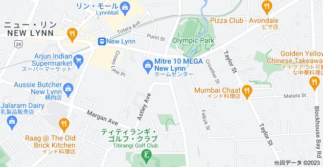 Location of ネビル・ストリート
