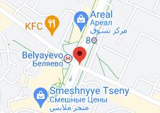 Location of Belyayevo