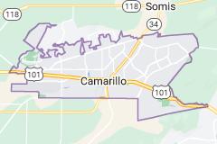 Map of Camarillo California