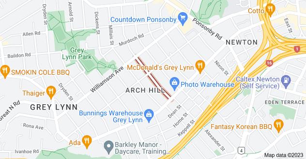 Location of Turakina Street