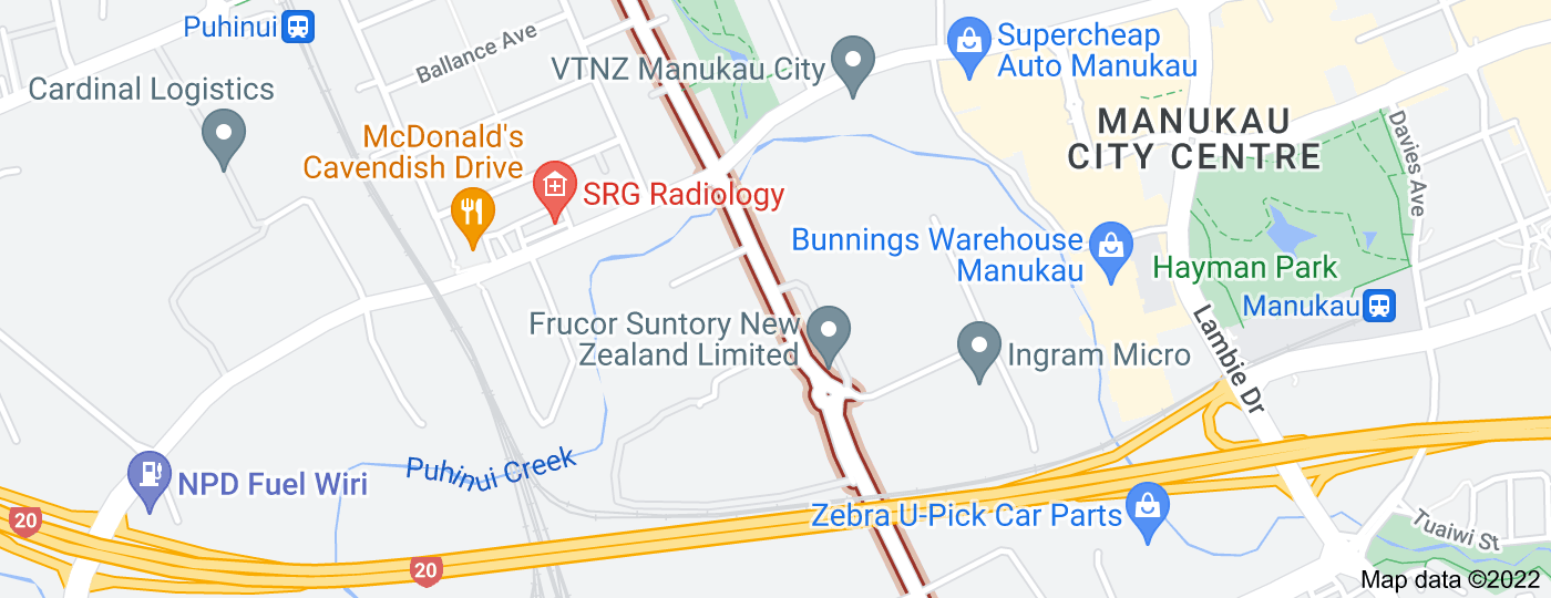 Location of Plunket Avenue