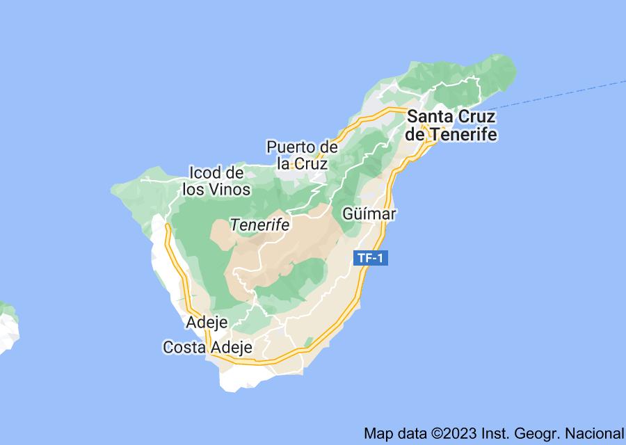 Location of Tenerife