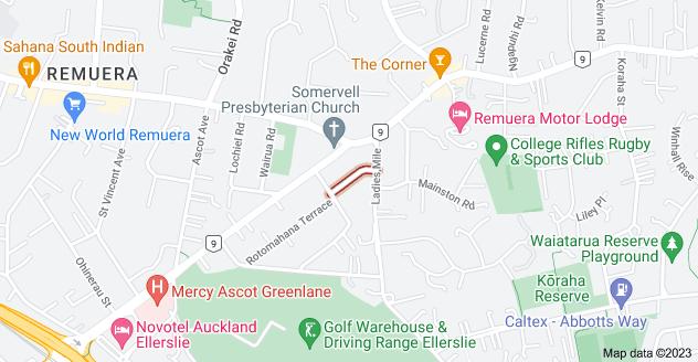 Location of Ormonde Road