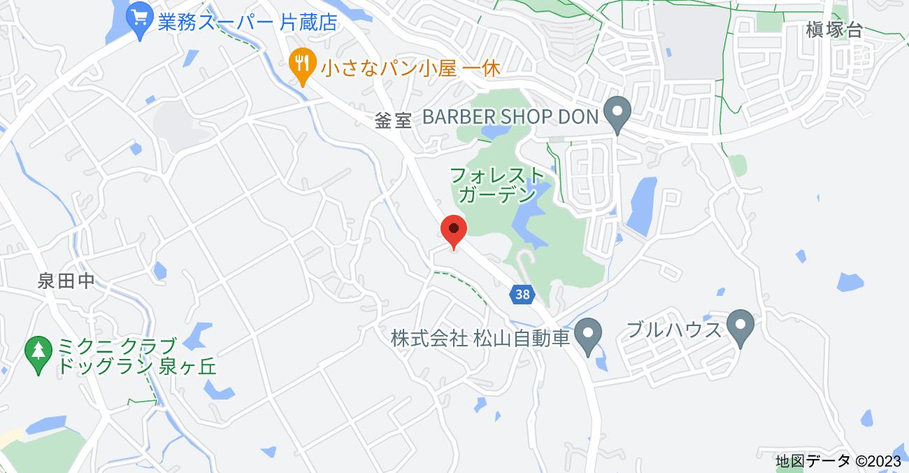 〒590-0122 大阪府堺市南区釜室88の地図