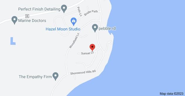 Map of 8210 Sunset Ct, Lake Mills, WI 53551
