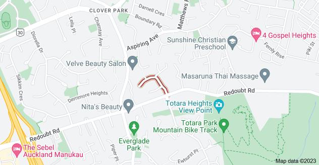 Location of Santa Monica Place