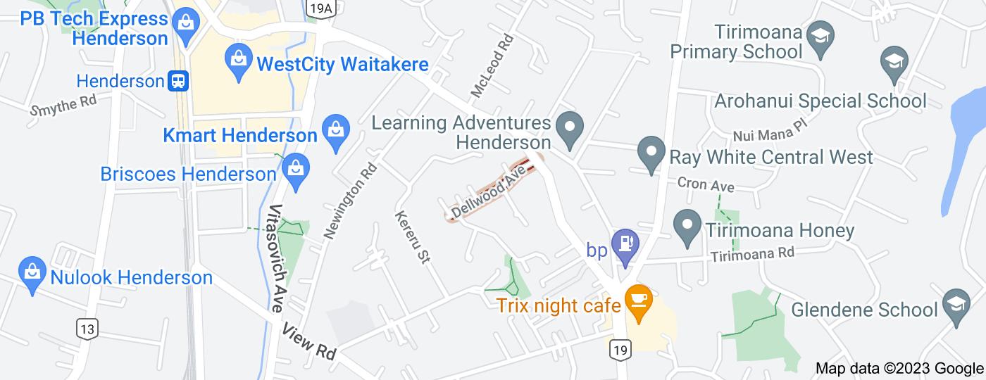 Location of Dellwood Avenue