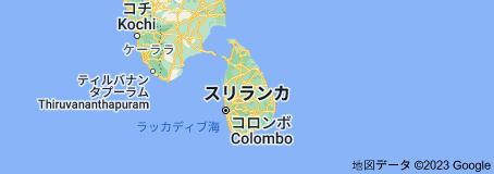 Location of スリランカ