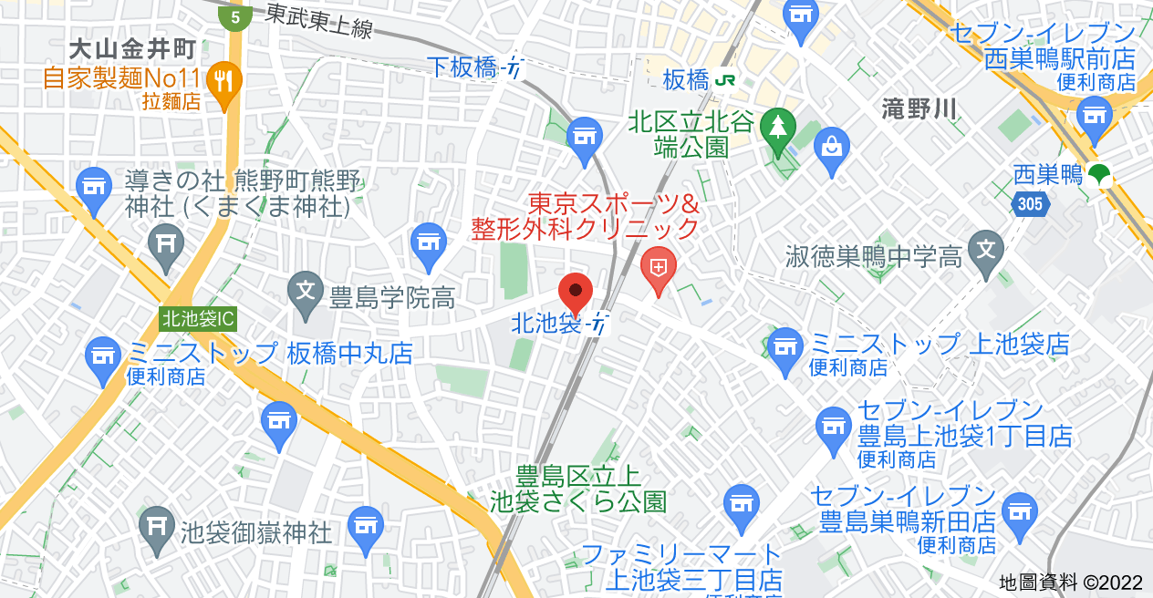 日本〒170-0011 Tōkyō-to, Toshima City, Ikebukurohonchō, 1-chōme−34−8 クラッセ国際コーポ池袋地圖