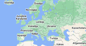 Location of Europa