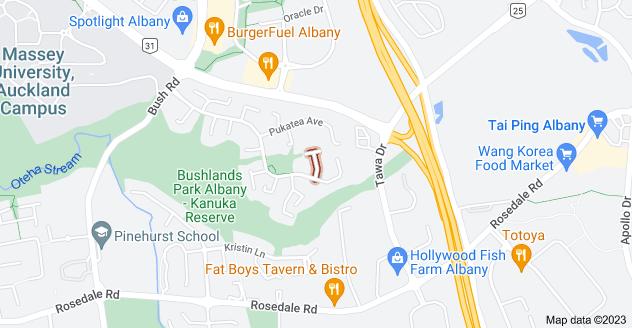 Location of Sophora Way
