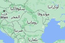 Location of رومانيا