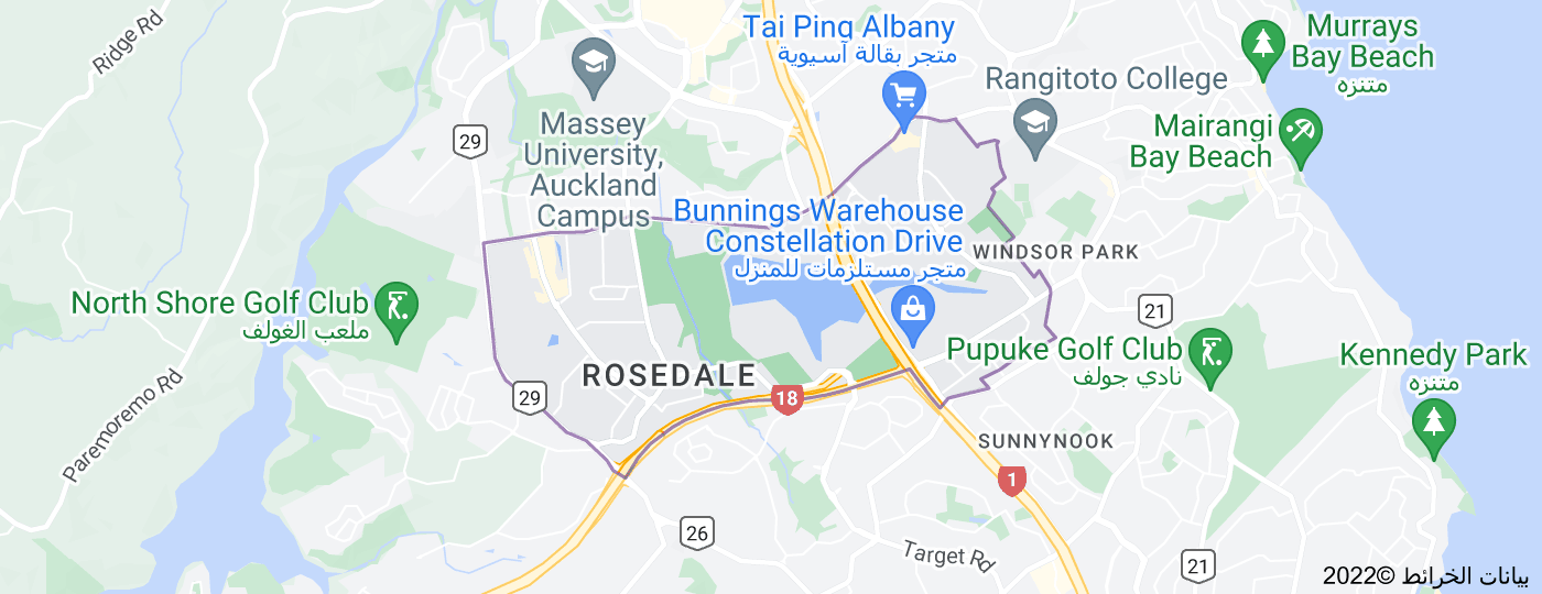 Location of Rosedale