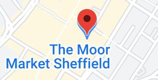 Map of The Moor Market