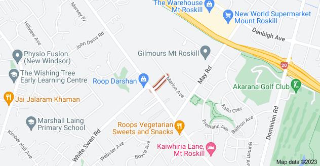 Location of McGowan Street