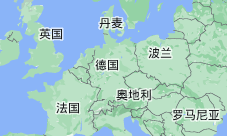 Location of 德国